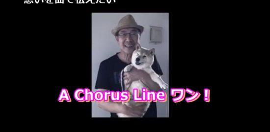 天国の柴犬らんへ想いを曲で伝えたい|A Chorus Line ワン!